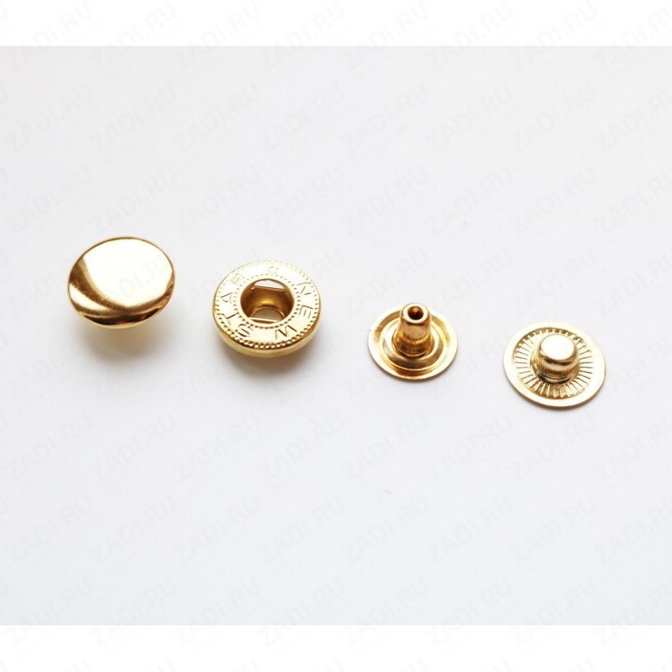 Набор кнопок Alfa металл 15мм (антик, никель, золото) 10шт
