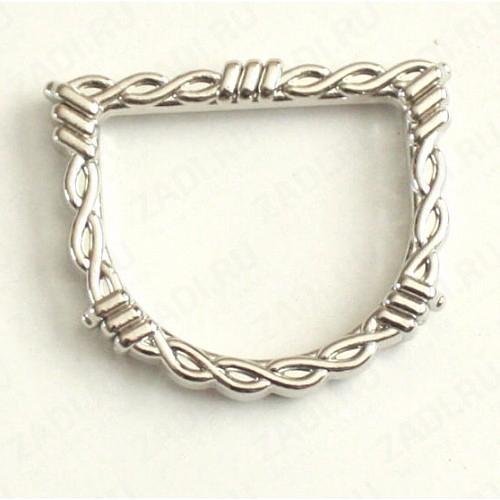 Кольцо 38х4мм   (никель) 1 шт.16935-04