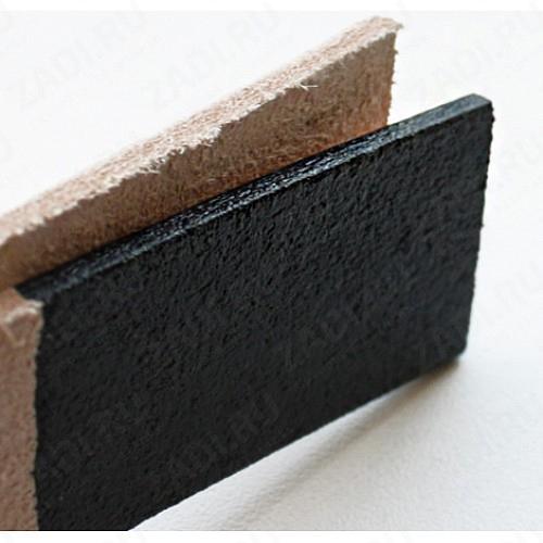 Шеллачный финиш для уреза и мездр. части кожи 100мл (черный) A402