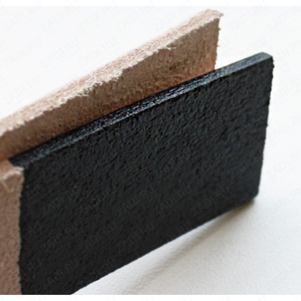 Шеллачный финиш ROC для уреза и мездр. части кожи  (черный) A402