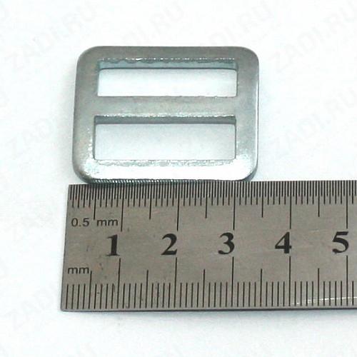 Пряжка пятистенка  25мм  арт 3566 П-17-03