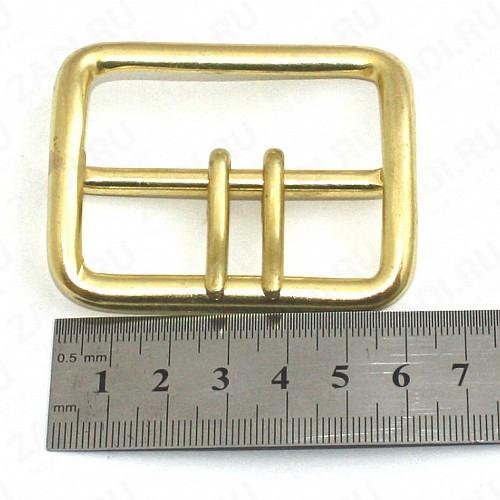 Пряжка для ремня шириной 50мм ( литьё-латунь)  арт 3559 ПП-01