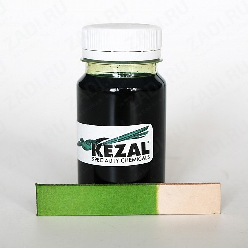 Краска для кожи kezal (Светло-зелёный) 100мл. К644