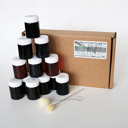 Набор красок (12 цветов)  Аrnesi на спиртовой основе арт. C3117