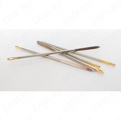 Игла для работы с кожей, ромбовидное остриё (52мм х1мм)IG22 1шт