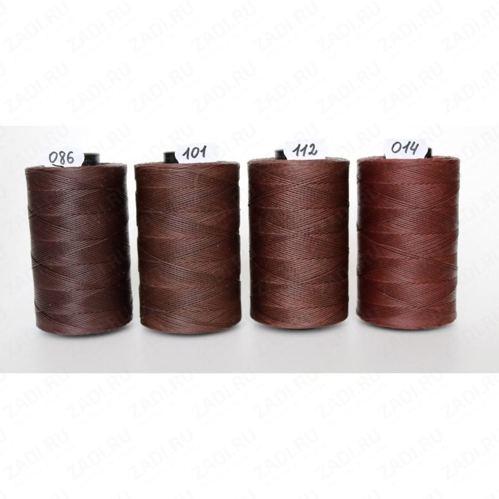 Нить плетёная-вощёная   (цвет -101) 0,6мм и 0,8мм SALEM