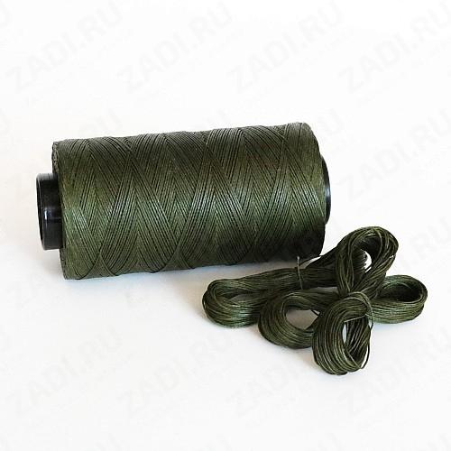 Нить плетёная-вощёная (цвет -010) 0,8мм и 0,6мм SALEM