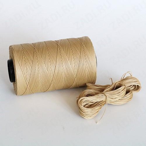 Нить плетёная-вощёная (цвет -012) 0,4мм; 0,8мм  и 1мм SALEM