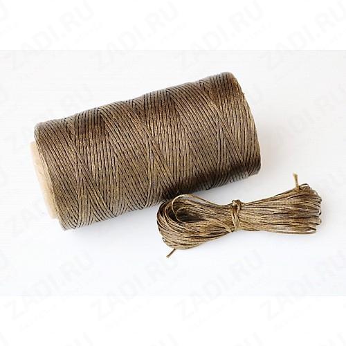Нить плетёная вощёная 0.6мм  арт. 229R