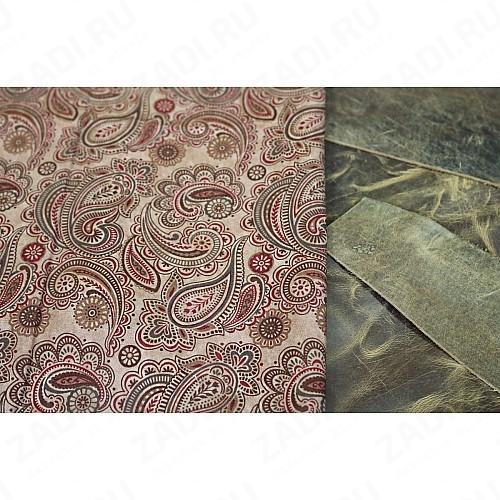 Подкладочная ткань для кожи 110х100см арт.Т300 №212
