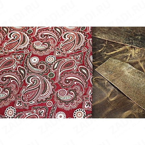 Подкладочная ткань для кожи 110х30см арт.Т255 №9