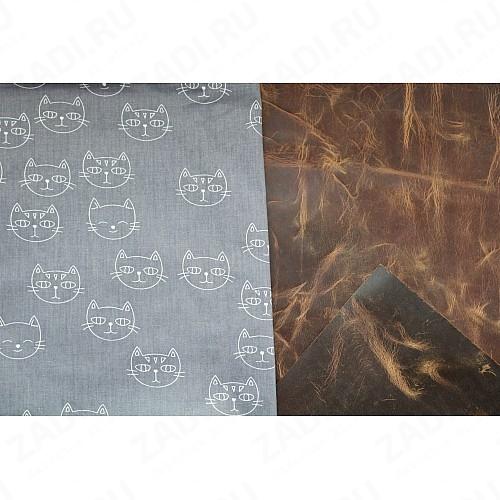 Подкладочная ткань для кожи 100х50см арт.Т500 №517