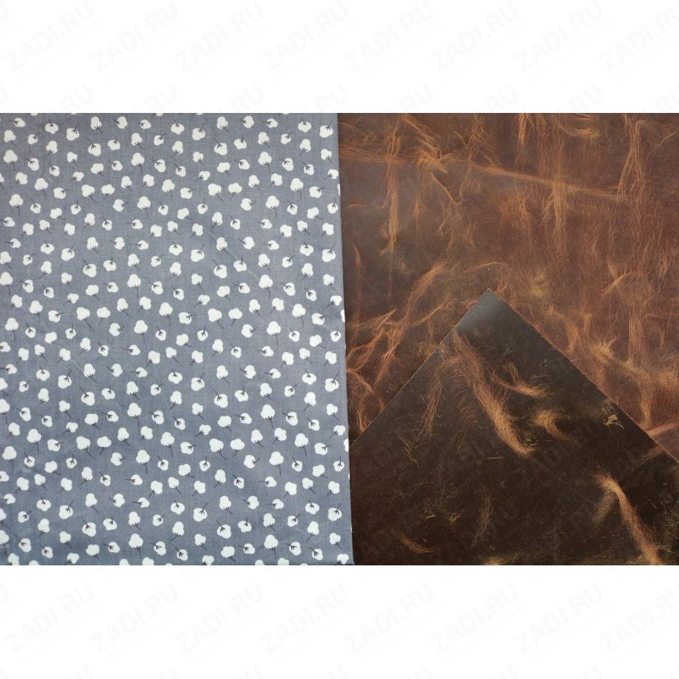 Подкладочная ткань для кожи 100х50см арт.Т500 №514