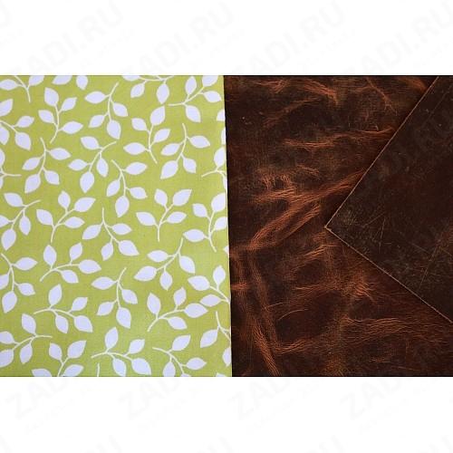 Подкладочная ткань для кожи 100х50см арт.Т355 №3