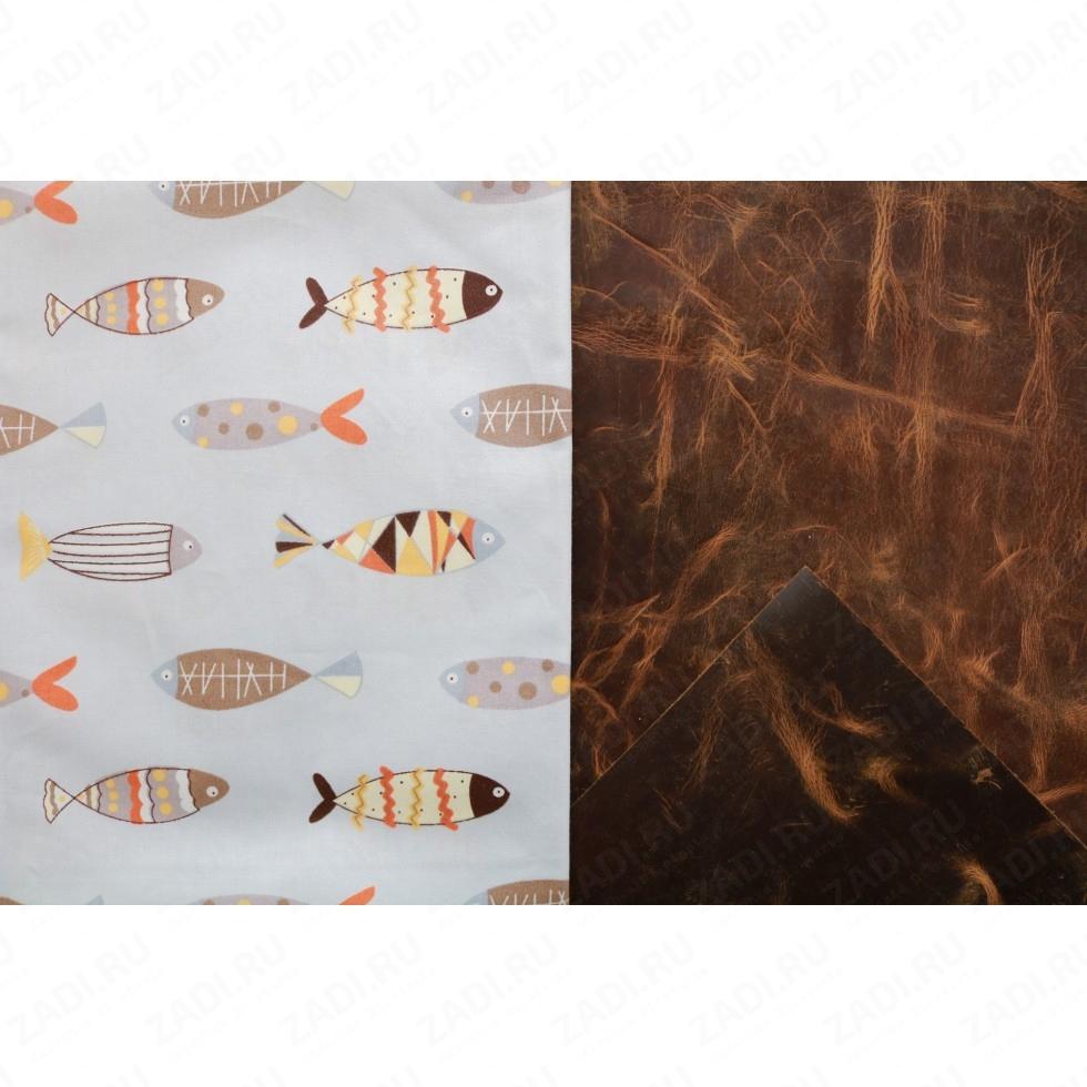 Подкладочная ткань для кожи 100х50см арт.Т500 №519