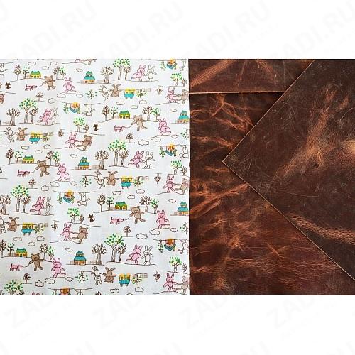 Подкладочная ткань для кожи 100х50см арт.Т355 №5