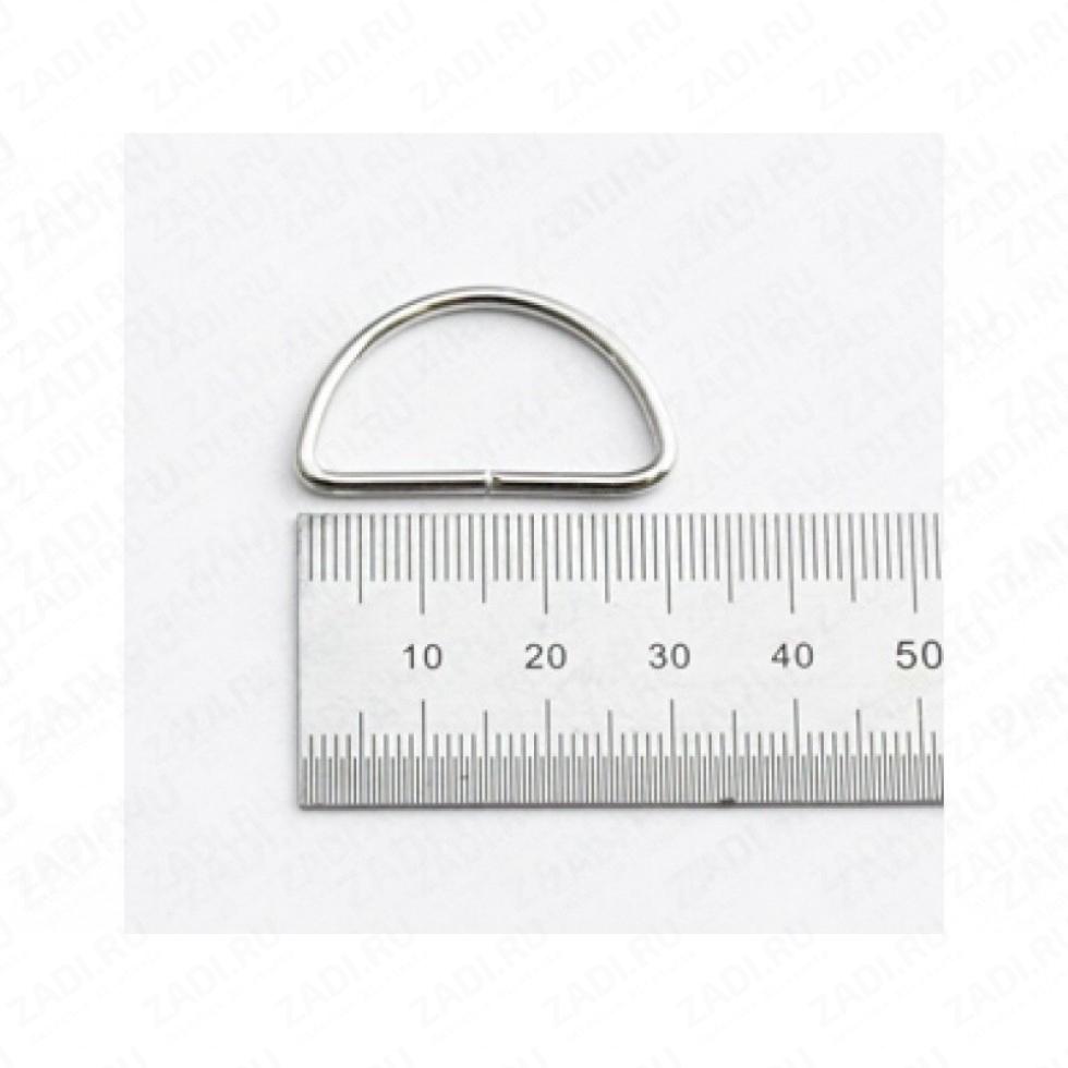 Полукольцо 30мм (никель,бронза,оксид) 2мм 1шт. IKF405