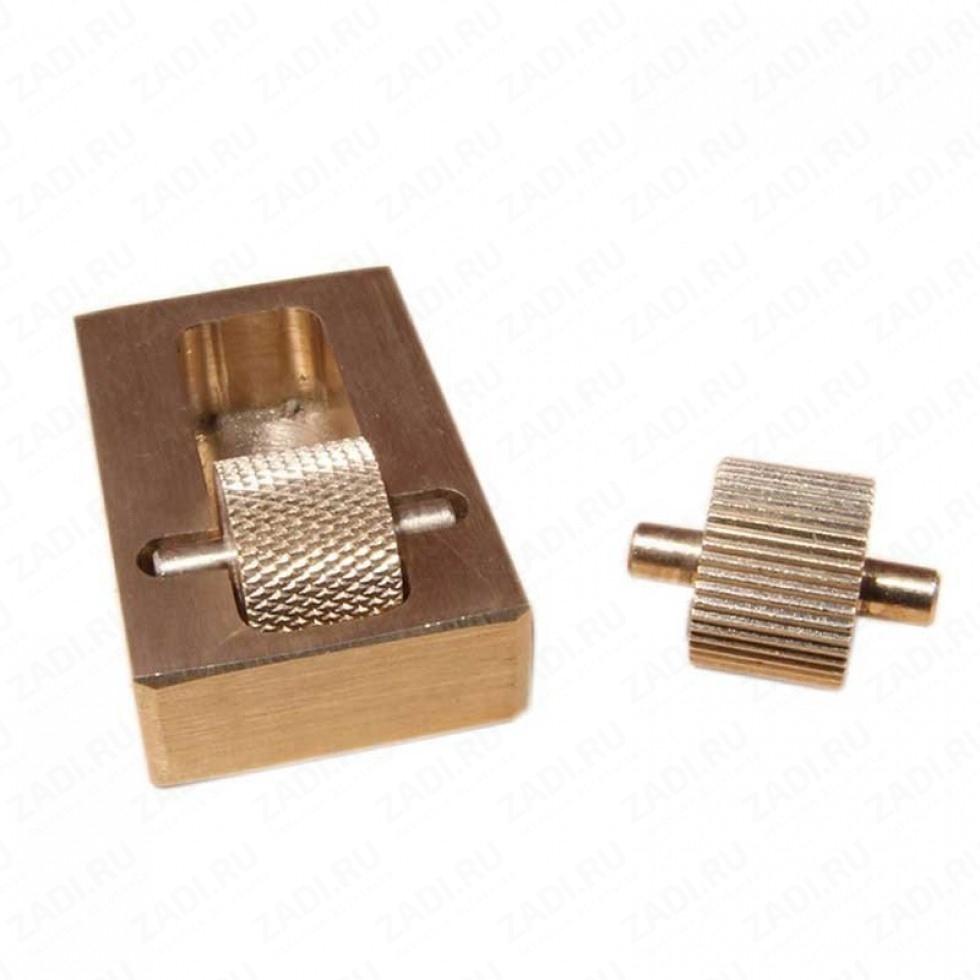 Устройство для окрашивания краев изделий с двумя роликами INS57