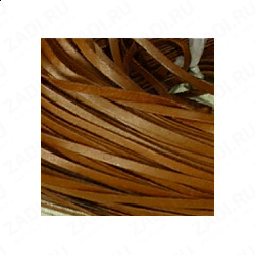 Лента кожаная 1,3х3мм (коричневый) L63