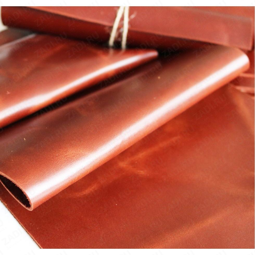 Крейзи Хорс 1,4-1,6мм (цвет: красно-коричневый) ГЛЯНЕЦ арт.121