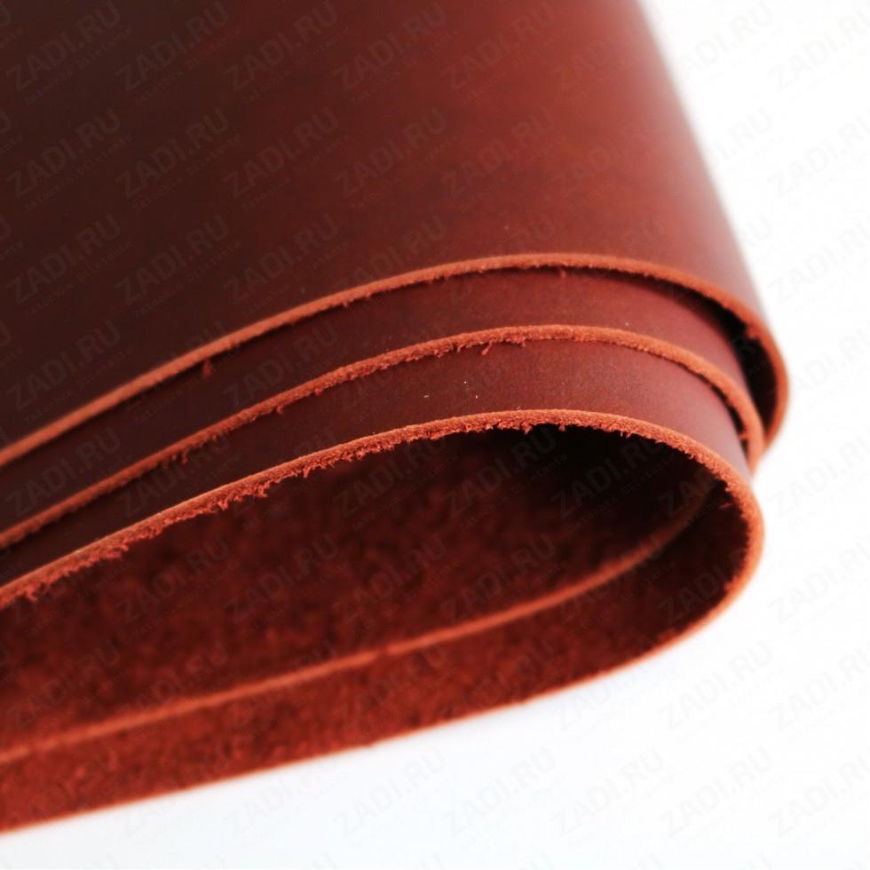 Крейзи Хорс 1,4-1,6мм (цвет: красно-коричневый) мат. арт.421