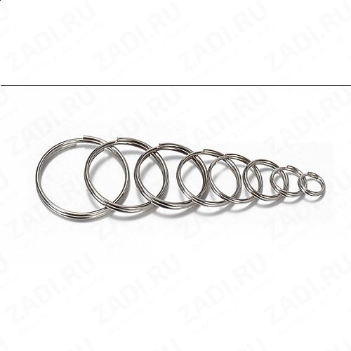 Кольцо для ключей (никель) 14мм;15мм