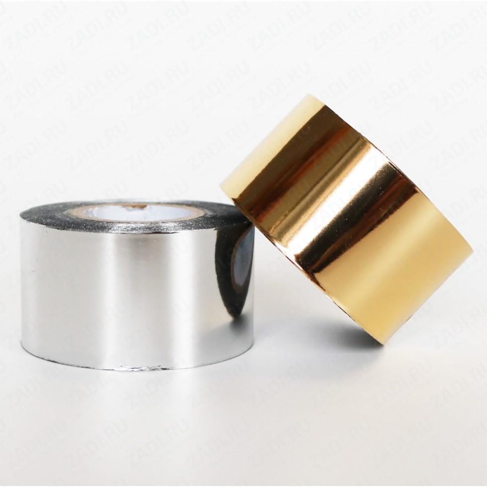 Фольга для холодного тиснения штампами  30мм х100м арт. Ф30
