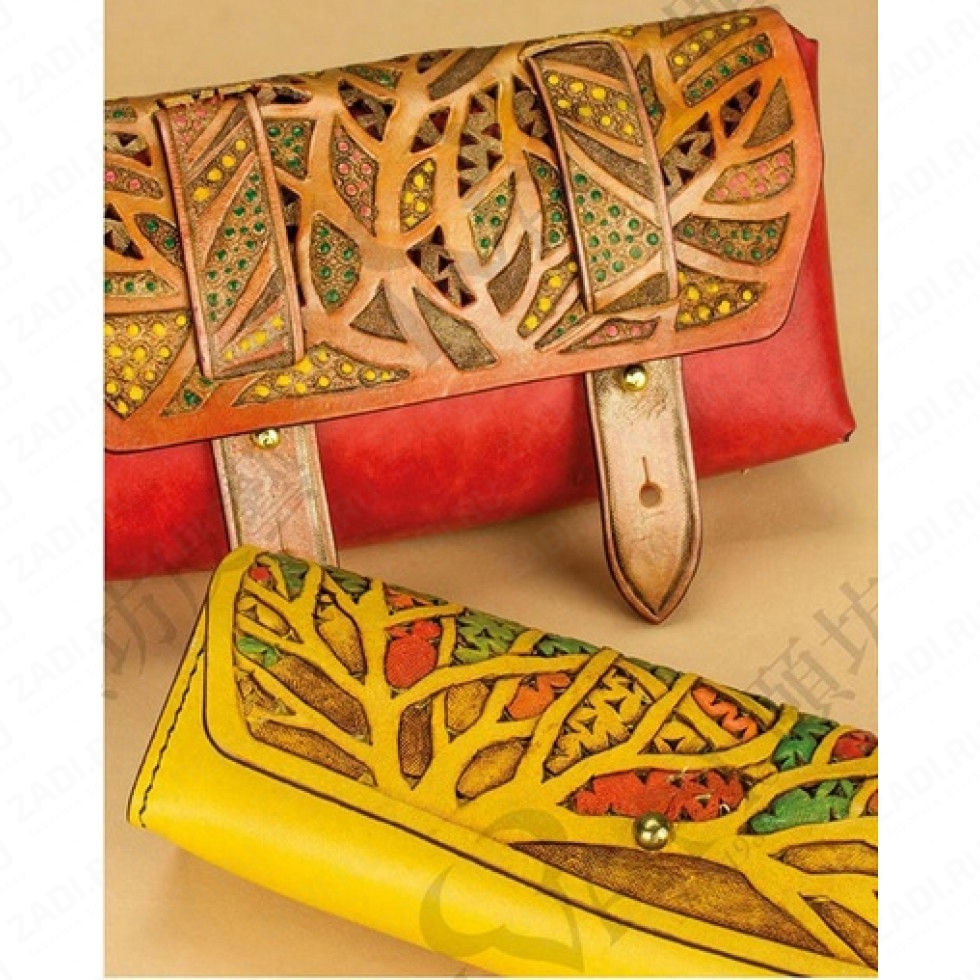 Eco-Flo Leather Dye Pack (набор красок)  № 5  арт. 2650-05