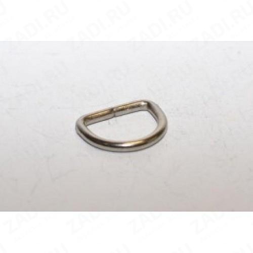 Полукольцо 25х3мм (никель) IKF102