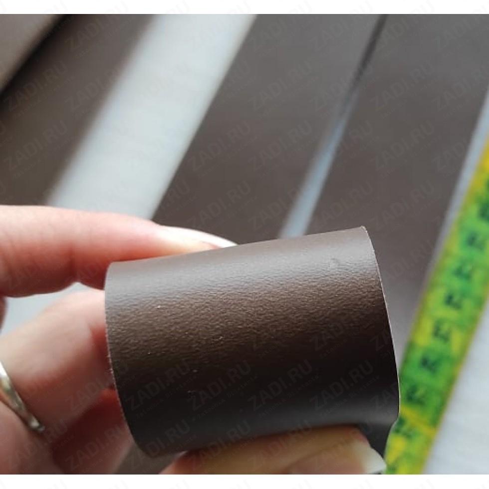 Заготовка для ремня из кожи  раст. дубл. ИТАЛИЯ 3,5-4мм +ТРЕНЧИК R9852 Сорт В