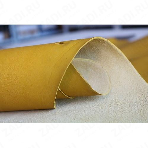 Кожа - Пола телячья (жёлтый) Италия 1,6-1,8мм