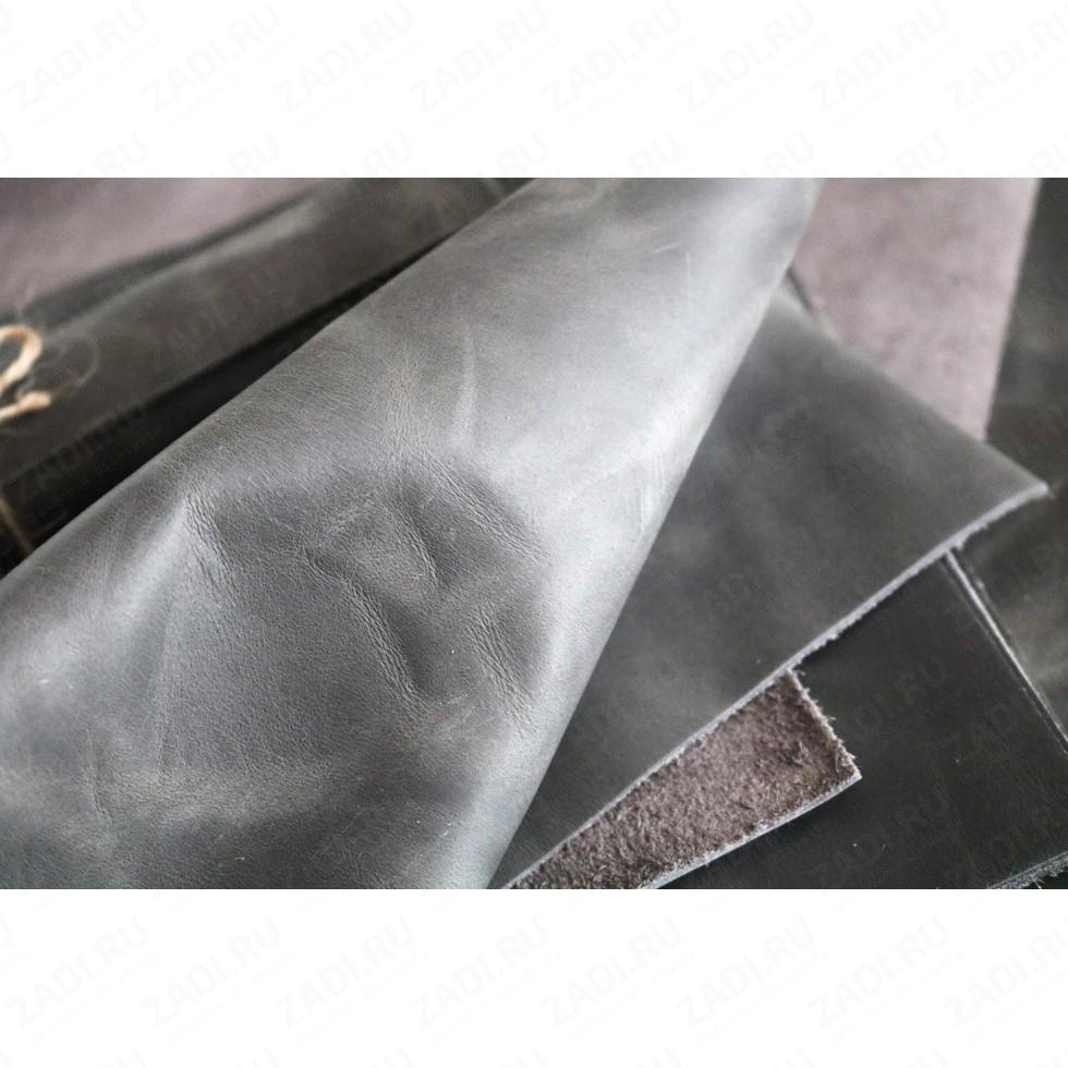 Крейзи Хорс 1,4-1,6мм (цвет: серый) Мат. арт.416