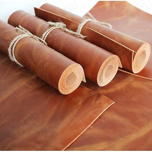 Крейзи Хорс 1,4-1,6мм (цвет: светло-коричневый) Мат. арт.412