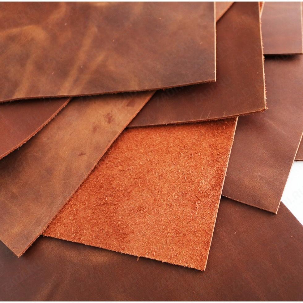 Крейзи Хорс 1,4-1,6мм (цвет: коньяк) Мат. арт.415