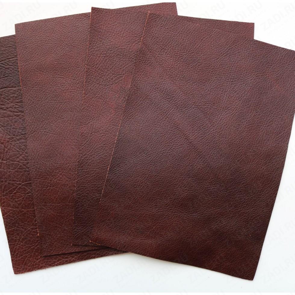 Кожа КРС (коричневый арт.) 1.3-1.5мм  Италия