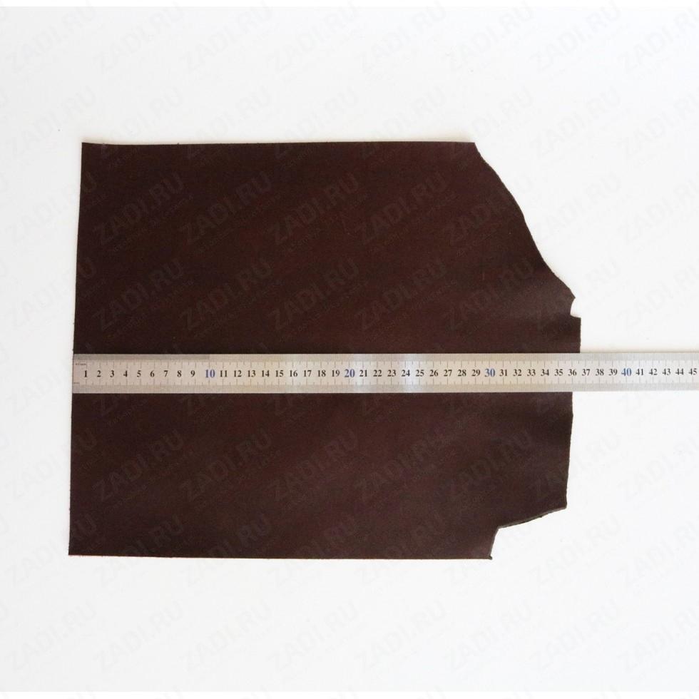 Кожа галантерейная  (Шоколад) 1.2-1.4мм  арт.К462