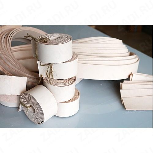 Заготовка для ремня из кожи 38мм (Бразилия) 2,2-2,4мм +ТРЕНЧИК арт.512 Сорт А