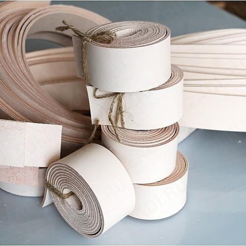 Заготовка для ремня из кожи 38мм (Бразилия) 2,2-2,4мм +ТРЕНЧИК арт.512 Сорт В