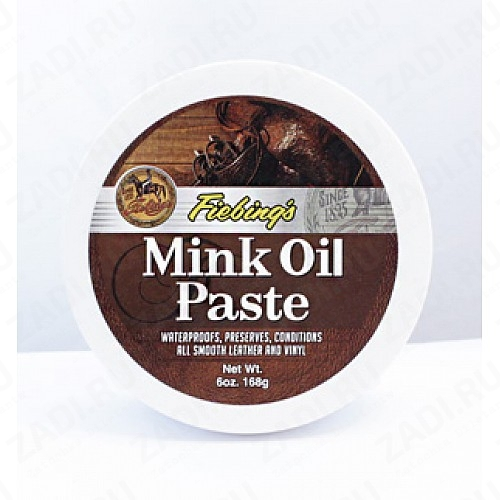 Mink Oil Paste (Норковый жир) 6 oz. 168 гр. УЦЕНКА