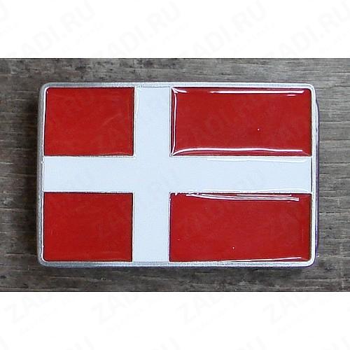 Пряжка (Датский флаг) BL6
