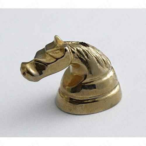 Голова лошади (латунь) 17х20мм  FUR 3441