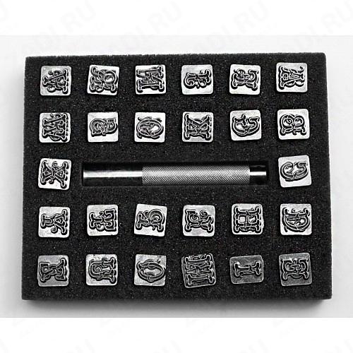 Набор штампов АВС IVAN арт. 8140-00 15мм