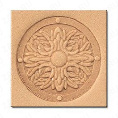 Штамп для кожи 3D арт. 8658-00  30мм х 25мм