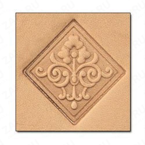 Штамп для кожи 3D арт. 8659-00  30мм х 25мм