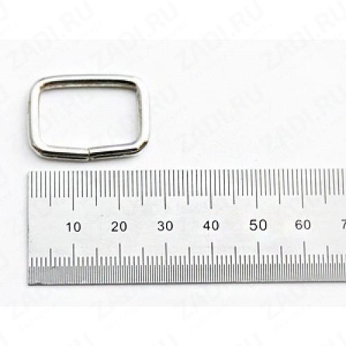 Рамка прямоугольник 20х12мм  (никель, бронза , медь, оксид) 1 шт