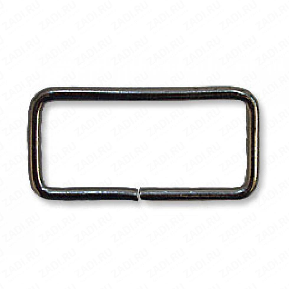 Рамка прямоугольник 25х15мм  (оксид) 1 шт IKF109
