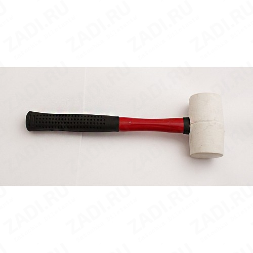 Киянка каучуковая (чёрная) фибергласовая ручка арт. А258105