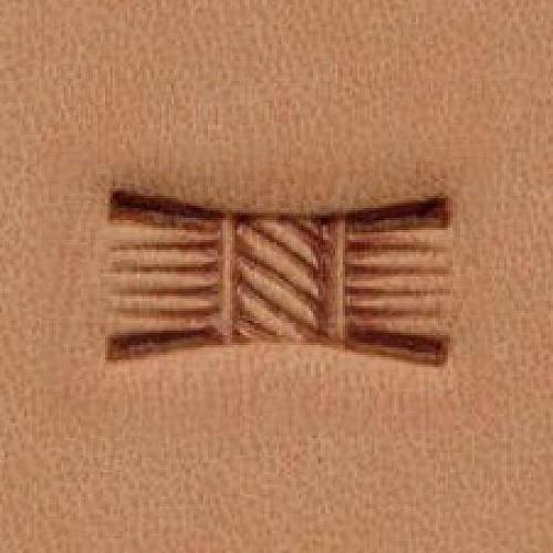 Штамп для кожи арт. X513  12мм x7мм